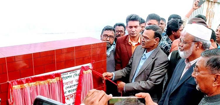 MP lays foundation stone of Ganeshwari river dam