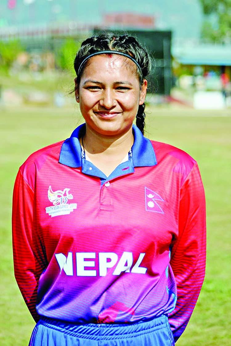 Nepal's Anjali rewrites T20I world record