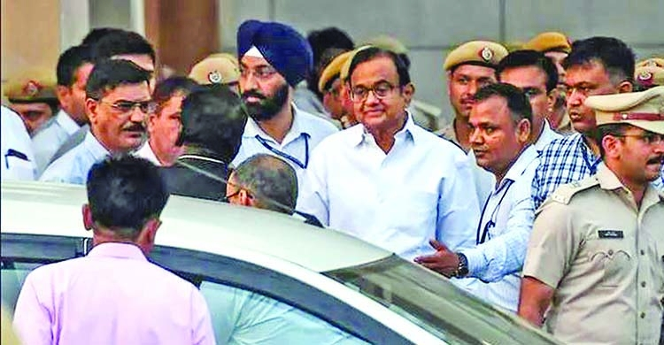 Former Indian finance minister bailed