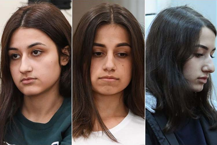 Russian sisters who killed father face murder charge