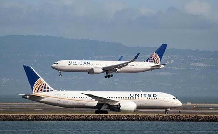 United Airlines orders 50 Airbus