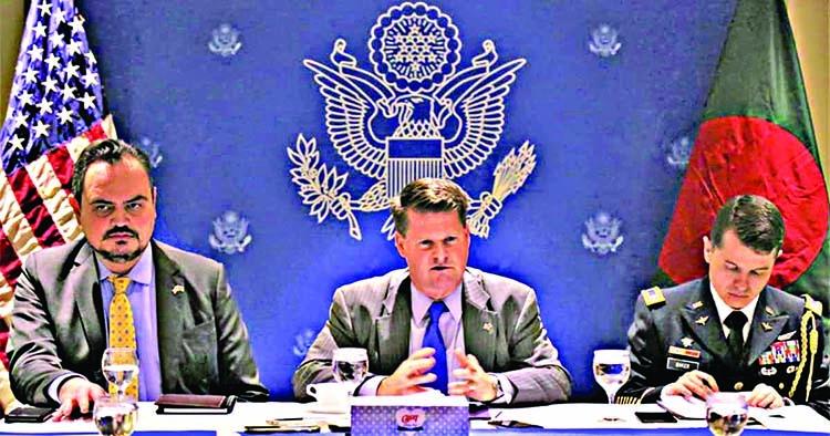 US seeks stronger defense ties with BD