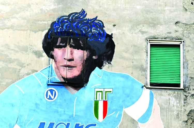 Maradona, patron saint of Naples, gets museum