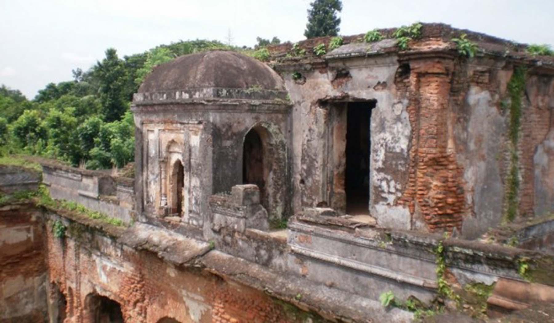Raja Shitaram Palace in Magura