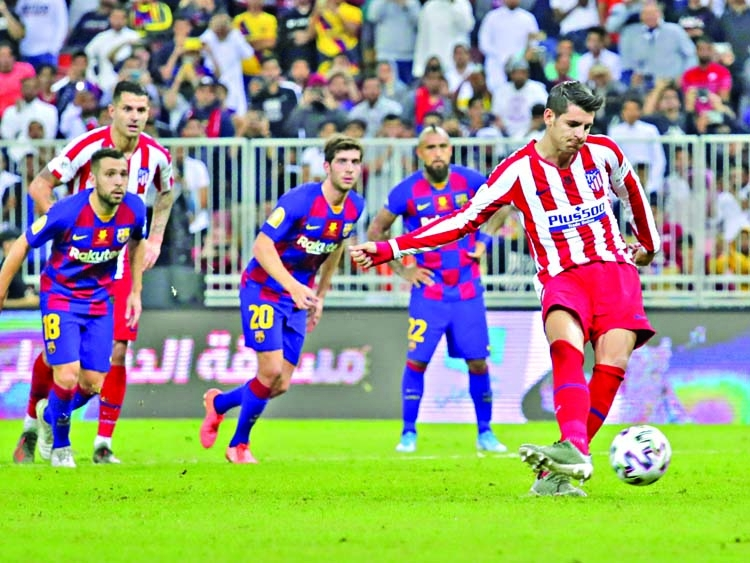Atletico upset Barca to meet Real in final