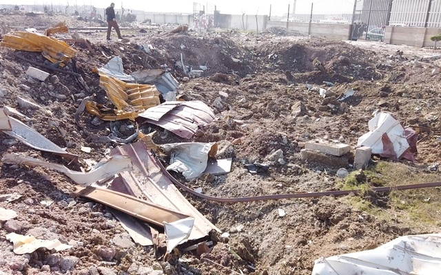 'Human error' caused Ukraine jet crash