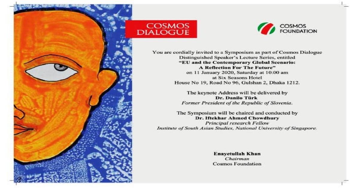 Cosmos dialogue on EU's contemporary relevance begins