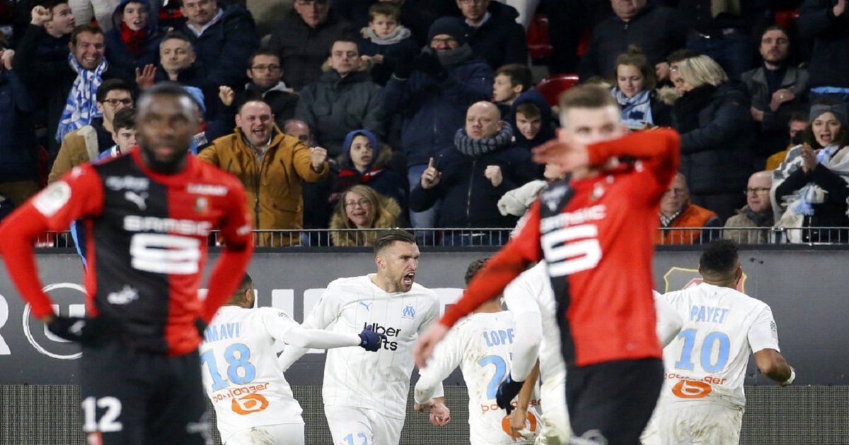 Strootman scores late winner as Marseille wins 1-0 at Rennes