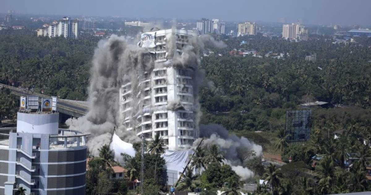 India demolishes buildings for violating environmental norms