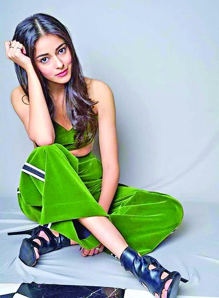 Ananya Panday on work mode