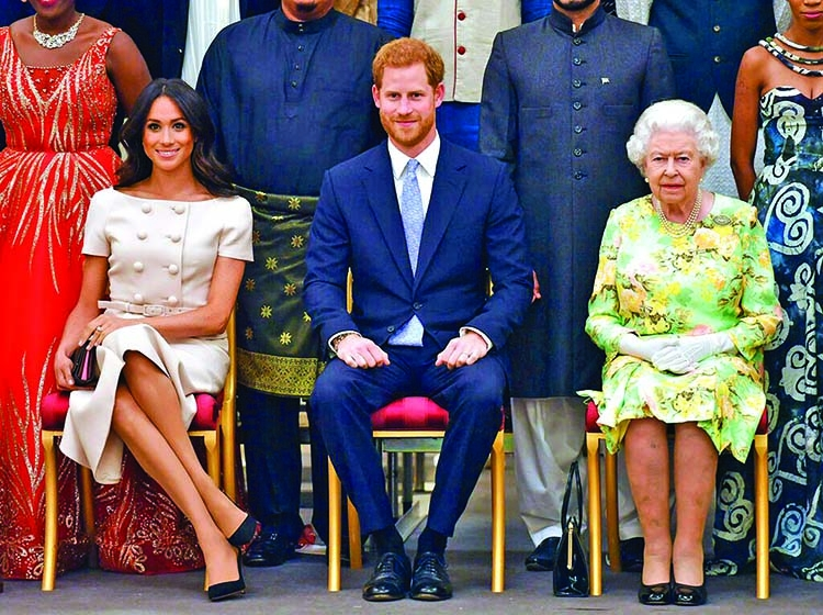 Harry, Meghan seek financial independenceuAP, London As part of a surprise announcement distancing themselves from the British royal family, Prince Harry and his wife Meghan declared they will