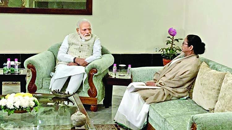 Mamata meets Modi, asks him to rethink CAA, NRC