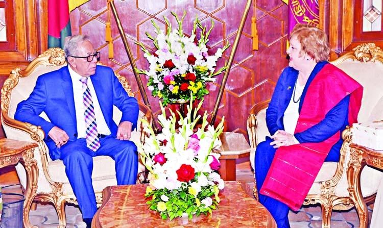 Ties between Bangladesh, Australia is increasing gradually: President