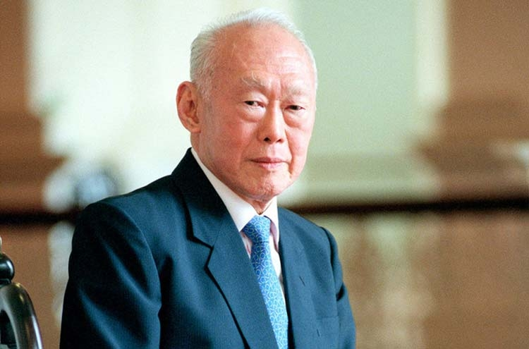 Evocative messages of Lee Kuan Yew's maxims