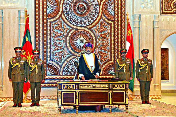 World leaders travel to Oman to meet new Sultan Haitham