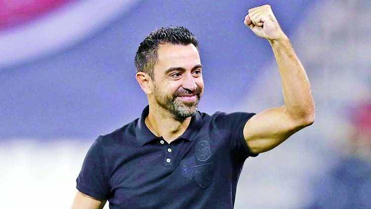 Xavi in talks to take Barcelona job: Al-Sadd