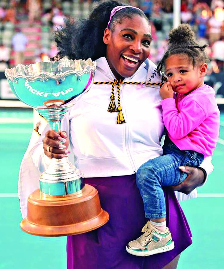 Serena breaks three-year title drought