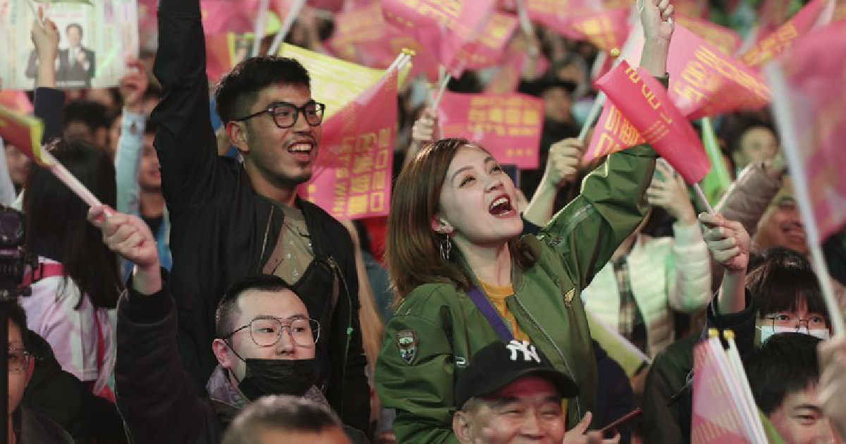 Taiwan vote signals growing divide with China
