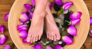 Feet during monsoon