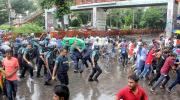 12 students held after Shahbagh clash