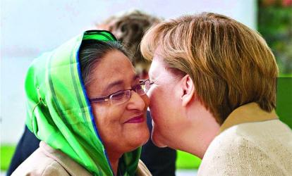 Hasina and Merkel most focused