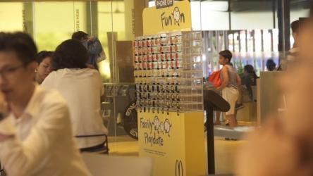 McDonald\'s introduces mobile lockers to put phone away
