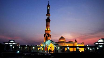 Renowned mosque of Barisal