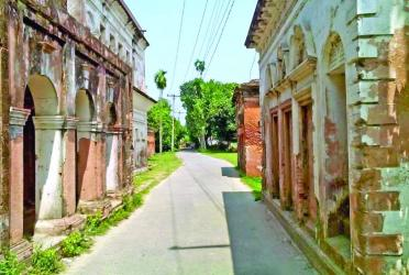 The golden city of Panam Nagar in ruins