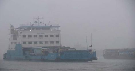 Shimulia ferry service halted