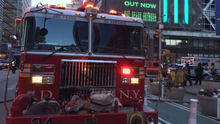 New York City explosion: One injured man detained by police
