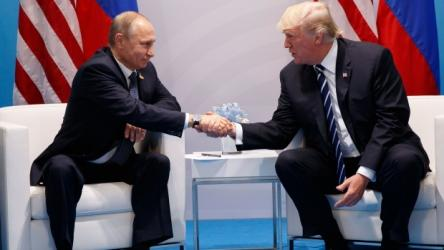 Trump thanks Putin for remarks on strong US economy