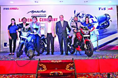TVS launches new Apache RTR 160 in Bangladesh