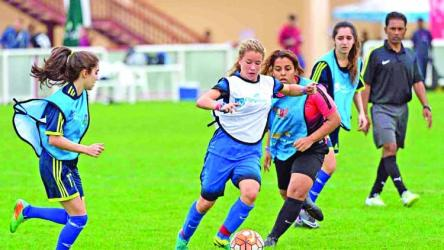 More girls are playing football. Is that progress?
