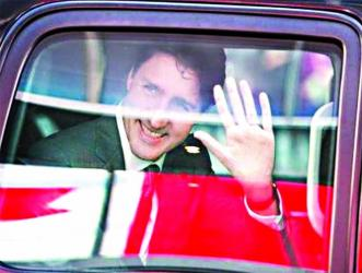 Canadian PM Trudeau begins weeklong India visit