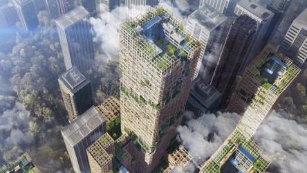 Tokyo plans tallest wooden skyscraper
