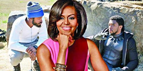 Michelle Obama 'loves' Black Panther
