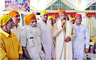 Sikh Khalsa Sajna Diwas celebrated in Dhaka