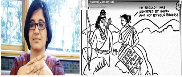 India journalist threatened over anti-rape cartoon
