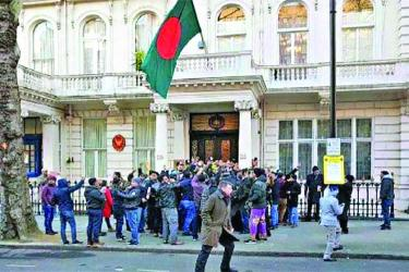 Diplomat sipped tea as BNP dishonored Bangabandhu