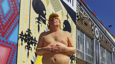 Naked Trump statue goes for $28,000 at auction