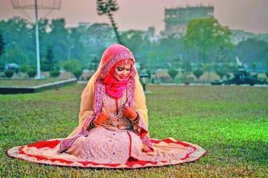 Top Muslim wedding dress to look like a dream bride!