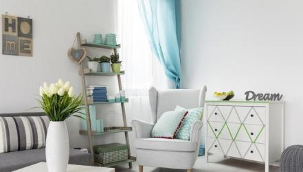 Escape the heat by adding soothing colours to your home