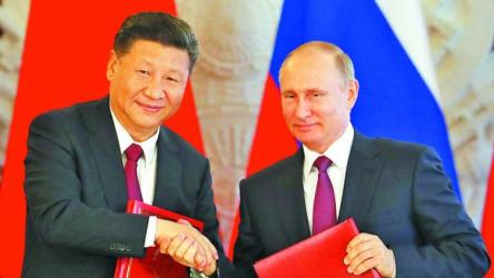 Russians' view of China increasingly positive