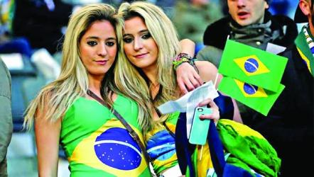 Brazilian fans downbeat ahead of World Cup