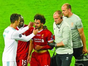 Egypt's Salah a doubt for World Cup, says Klopp