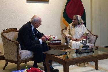 IOM to help BD repatriate Rohingyas, DG tells PM