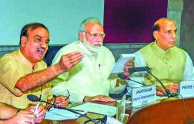 Modi seeks cooperation of all parties