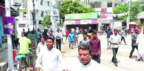 Bomb attack on BNP rally in Rajshahi
