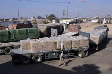Israel places limitations on cargo crossing into Gaza