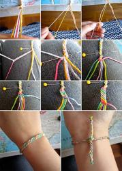 How to make friendship bands on Friendship Day